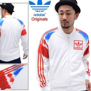 Adidas 3 Foil Super Star Zip Up Sweater
